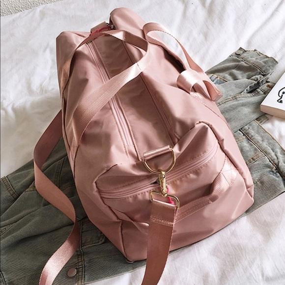 Handbags - Pink Duffle Bag